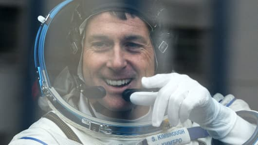U.S. astronaut Shane Kimbrough.