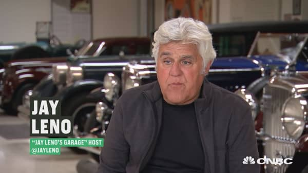 Jay Leno: Why I'm rooting for Tesla