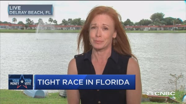 Record number of early votes in Florida