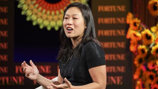 Priscilla Chan, co-founder of the Chan Zuckerberg Initiative LLC