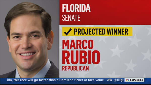 Sen. Marco Rubio wins re-election in Florida, NBC News projects
