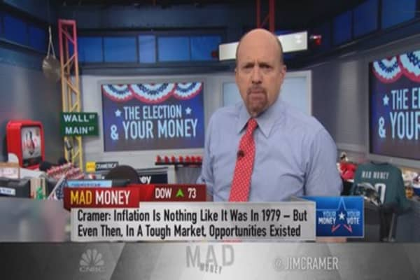From Watergate to WW II: Jim Cramer puts the history of politics and stocks on the table