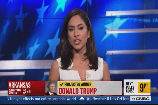 Celebrities talk election through social media