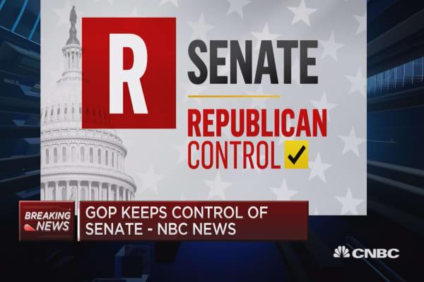 GOP keeps control of Senate -NBC News