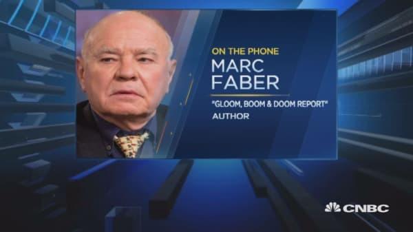 Markets didn't move much following Trump news: Faber
