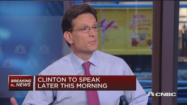 No more excuses for Republicans: Eric Cantor
