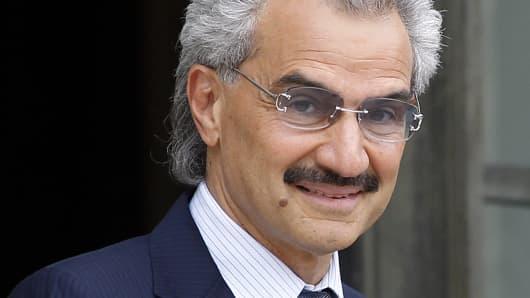 Al-Waleed bin Talal, Saudi Prince