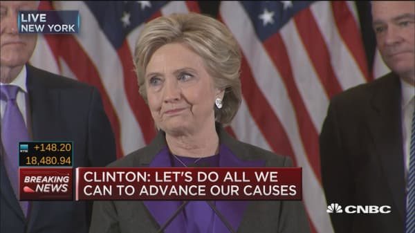 Clinton: This is painful, will be for a long time