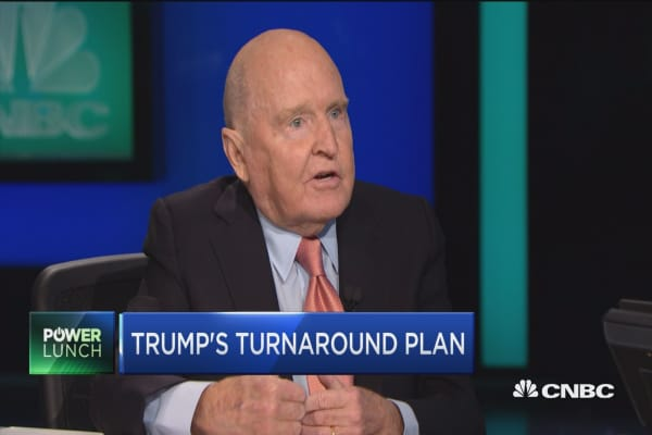 Welch: Opportunities unlimited in Trump's economic plan