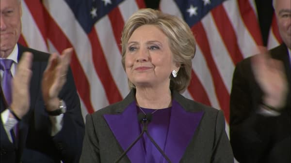 Hillary Clinton: 'Fighting for what's right is worth it'