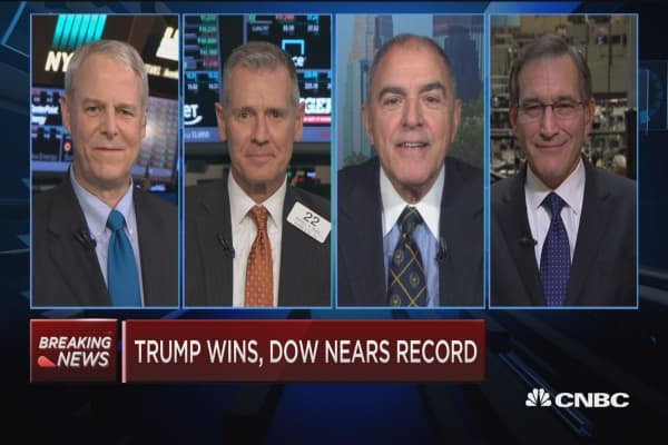 Closing Bell Exchange: Trump wins, Dow nears record