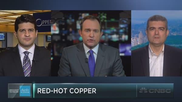 Copper jumps following Trump win