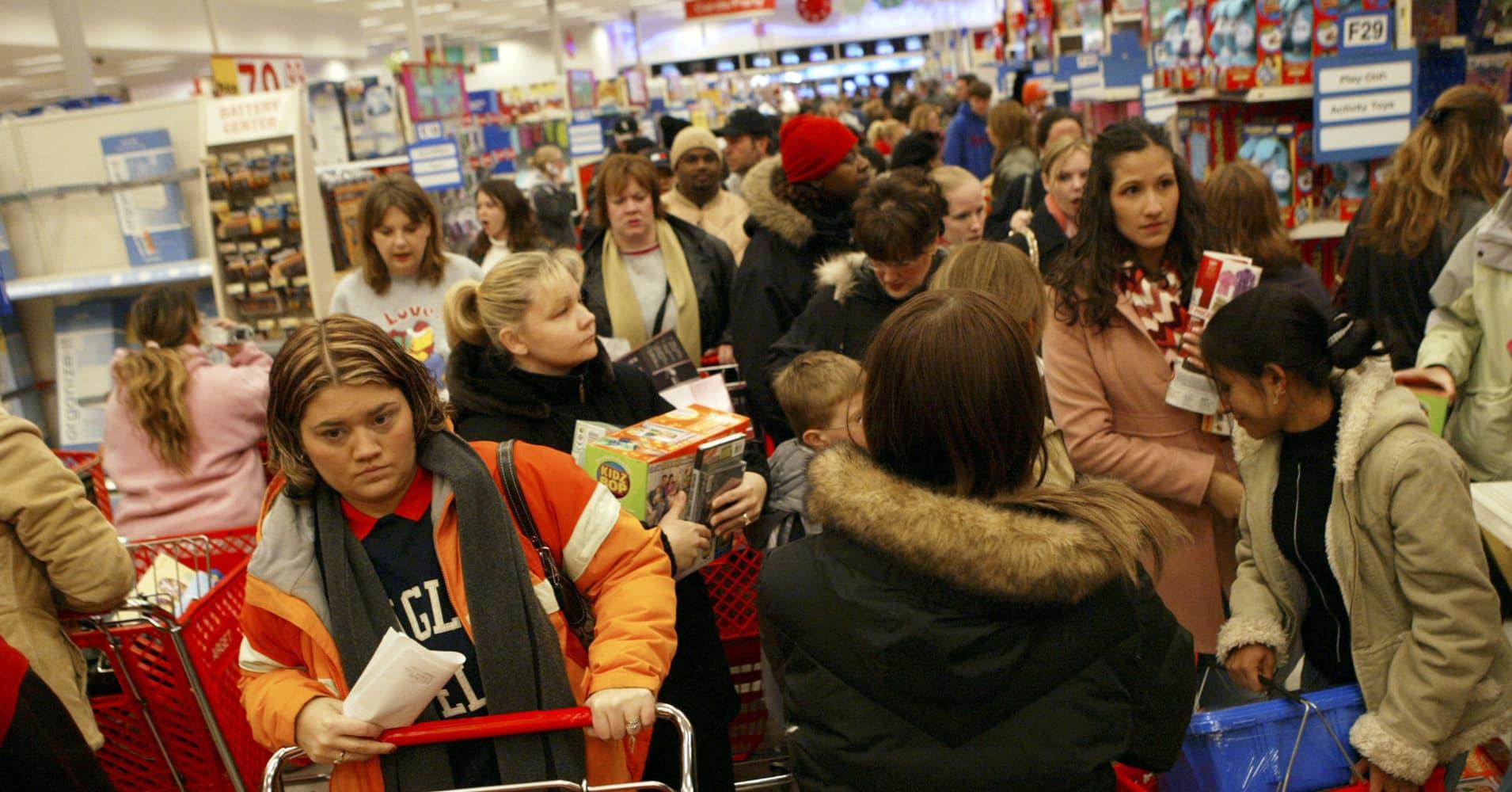 Target, holidays, black friday
