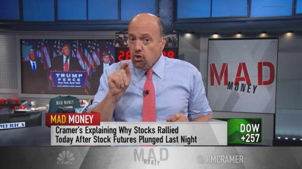Cramer explains the puzzling Trump rally in plain English