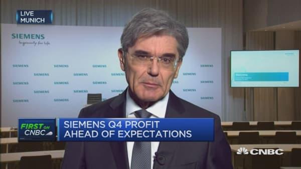 Siemens Q4 profit ahead of expectations