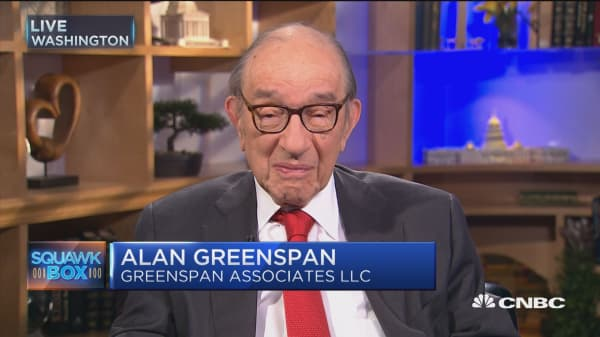 Greenspan: I'd love to see Dodd-Frank disappear