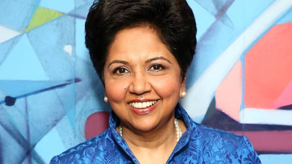 Chief Executive Officer of PepsiCo Indra Nooyi.