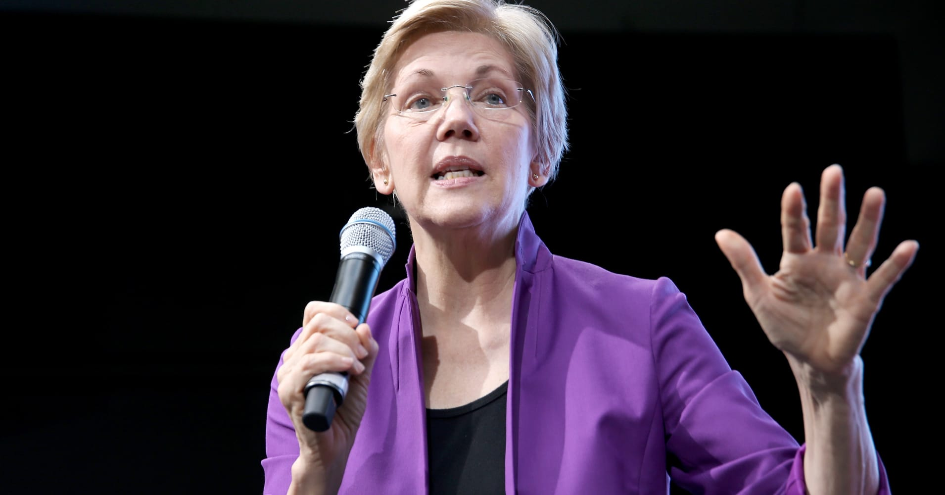 Watch: Sen. Elizabeth Warren discusses the financial crisis 10 years after Lehman Brothers collapse