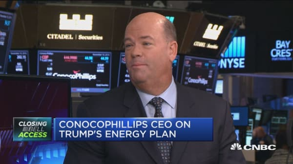 ConocoPhilips CEO: Trump recognizes the energy revolution