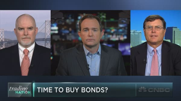 Time to play for a bond bounce?