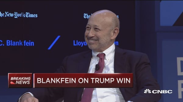 Goldman CEO: Dimon would be great treasury secretary