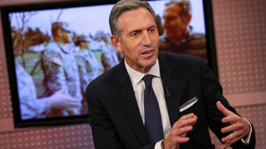 Howard Schultz on Mad Money.