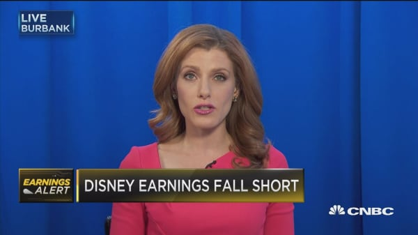 Disney CEO: Fiscal 17 will be an anomaly in growth trajectory