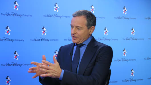 CEO and Chairman of the Walt Disney Company, Bob Iger.