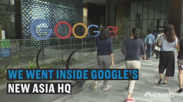 We got inside Google's new Asia Pacific HQ