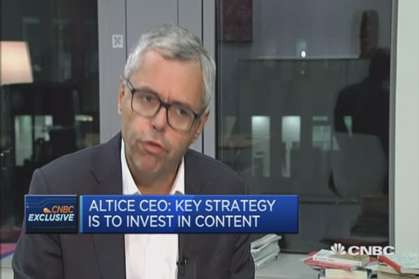 Key strategy for Altice is to invest in content: CEO