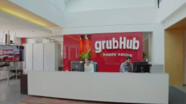 Grubhub CEO says his Trump comments were 'misconstrued'