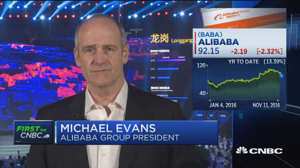 Alibaba's Evans on company roadmap