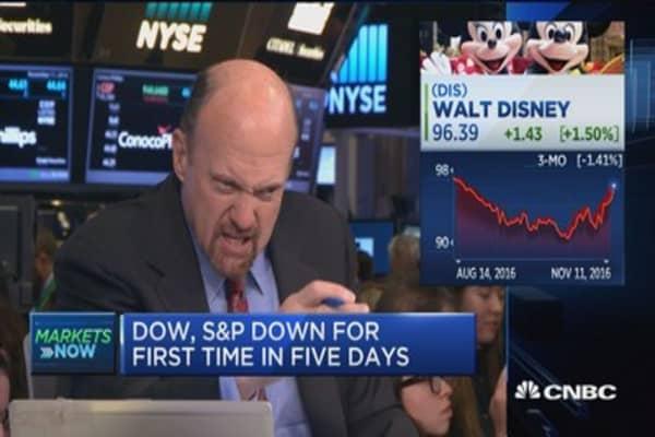 Cramer on Disney earnings