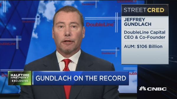 Gundlach: Treasury slide this week not surprising