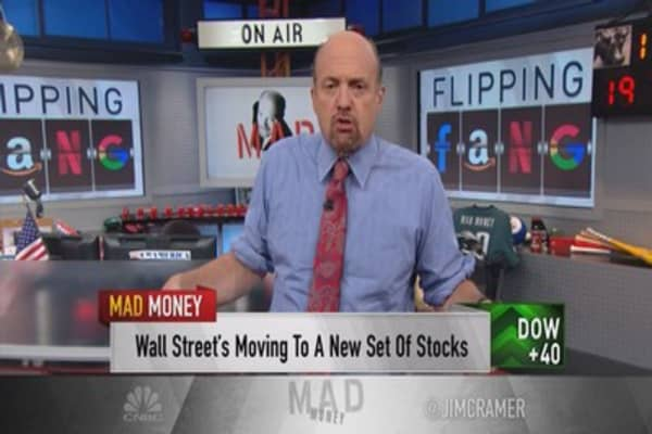 Cramer answers the burning question of why FANG was crushed this week