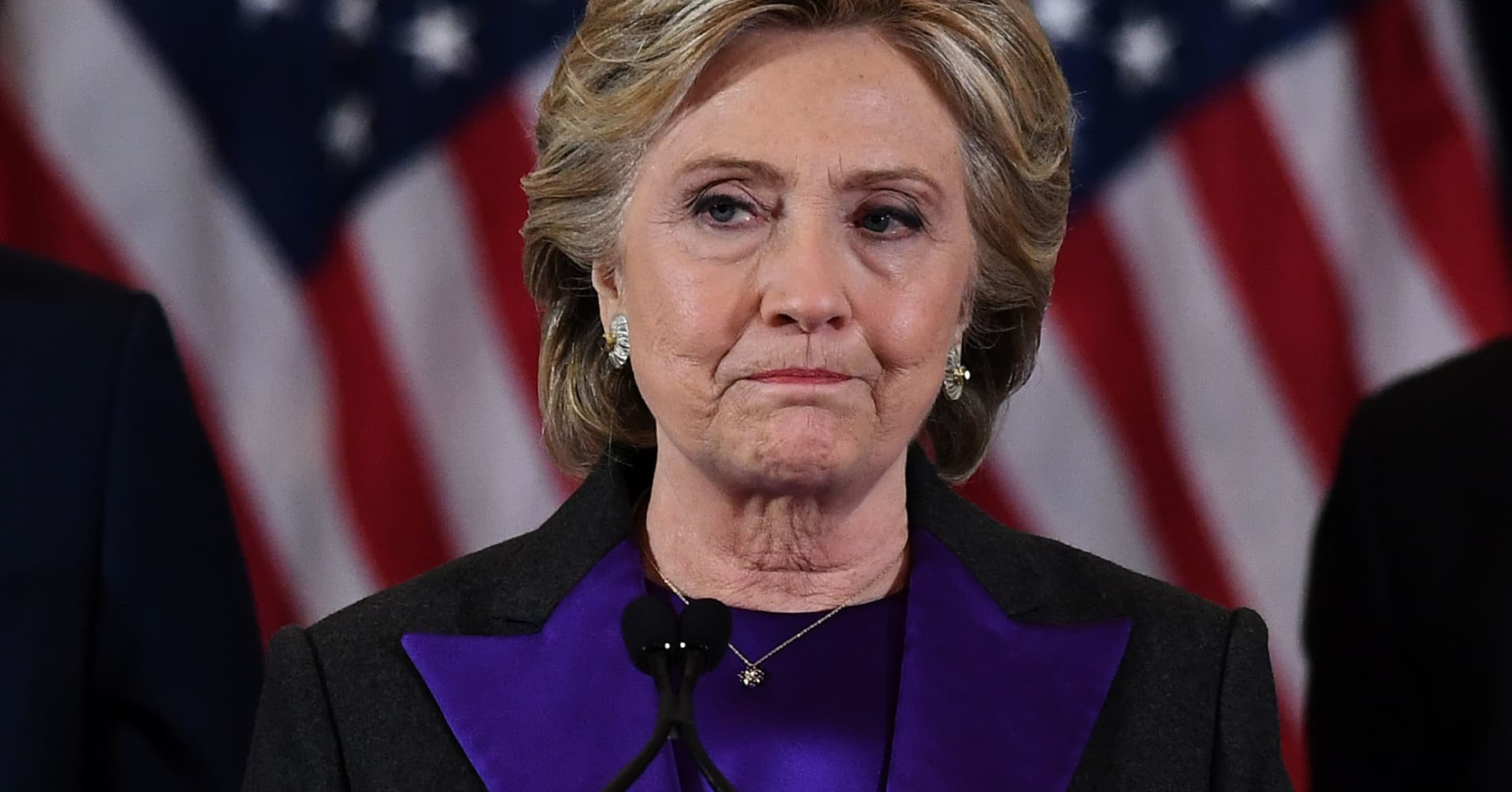 4c36610b2cb77 Hillary Clinton Partially Blames Loss on FBI Director James Comey s Email  Inquiry
