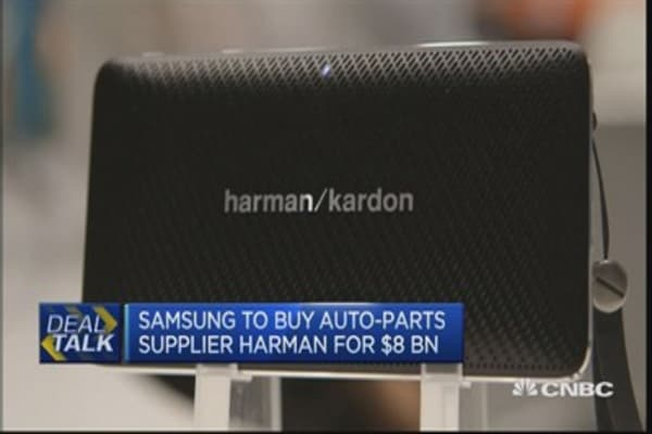 Harman deal is biggest overseas deal for Samsung