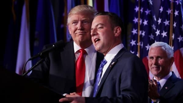 Preibus and Bannon take top Trump jobs