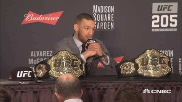 CNBC at UFC 205