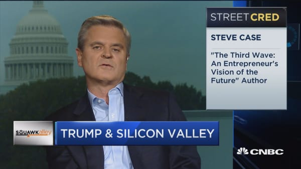 Steve Case on Silicon Valley and Donald Trump