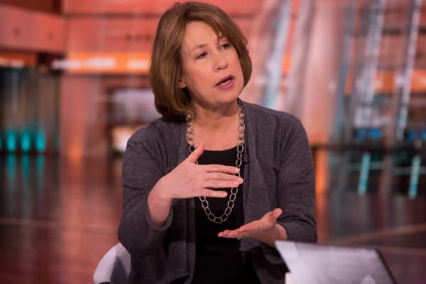 Sheila Bair, president of Washington College and former chairman of the Federal Deposit Insurance Corporation (FDIC)
