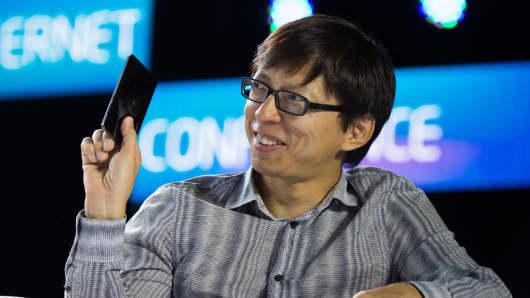 Sohu CEO Charles Zhang.