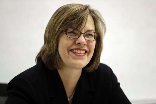 Popeye's CEO Cheryl Bachelder.