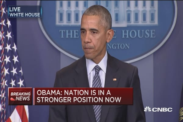 Obama: Ready to accelerate next steps in transition