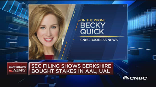 Buffett exclusive to CNBC: Berskshire bought stake in LUV