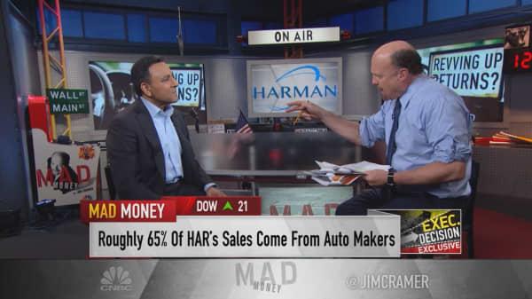Harman International CEO says Samsung's big deal is 'dynamite'