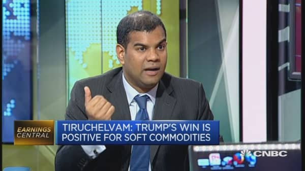 Soft commodities to benefit from Trump win: Expert
