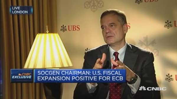 SocGen Chair: How the Fed, euro impacts the ECB's next move