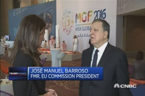 Important Europe and US remain very committed: Barroso