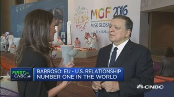 UK hasn't defined its Brexit position yet: Barroso